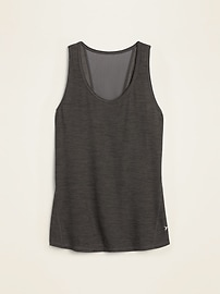Breathe ON Mesh-Back Tank Top for Women