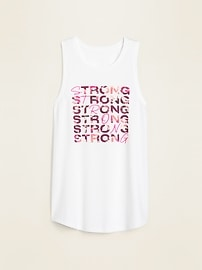 Graphic Muscle Tank Top for Women