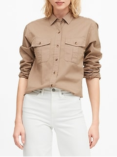 Banana Republic Heritage Utility Guide Shirt