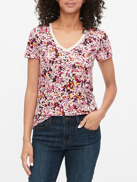Favorite Print Short Sleeve T-Shirt