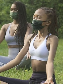 Athleta Girl Everyday Non Medical Masks 5 Pack New Fit