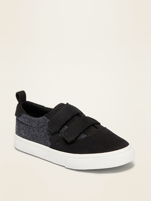 OLD NAVY Canvas Double-Strap Sneakers for Toddler Boys