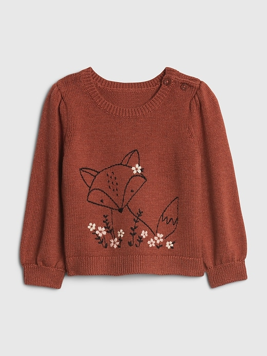 Gap Baby Fox Critter Sweater