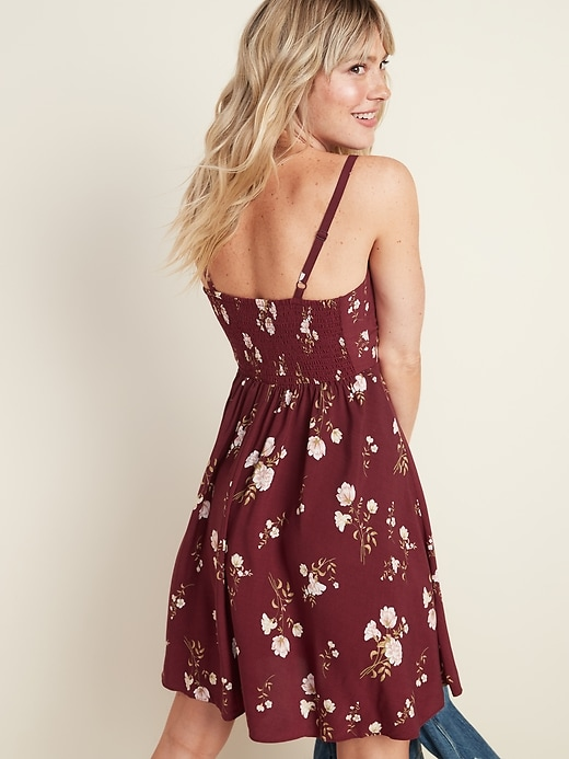 Fit & Flare Cami Mini Dress for Women
