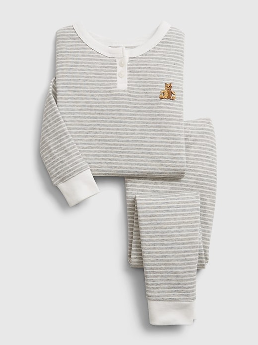 Gap babyGap Stripe Henley PJ Set