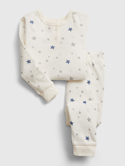 Gap babyGap Star Henley PJ Set