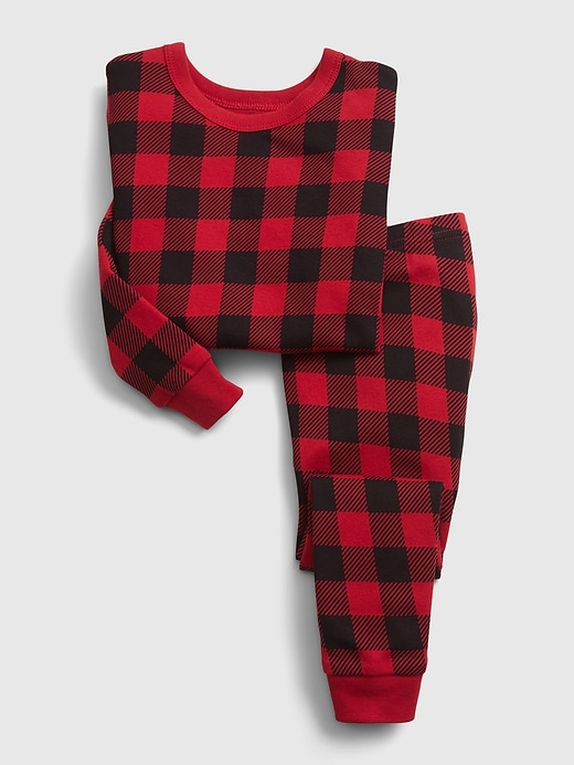 Gap babyGap Plaid PJ Set