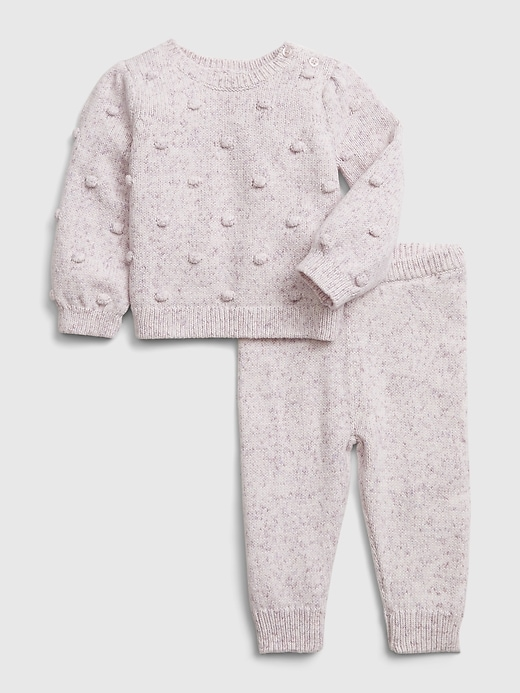 Gap Baby Bobble Sweater Outfit Set