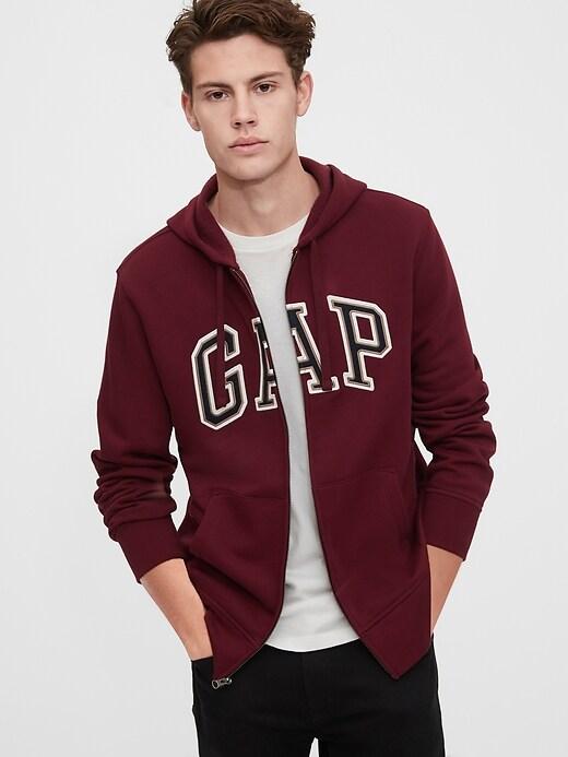 Gap Logo Full-Zip Hoodie