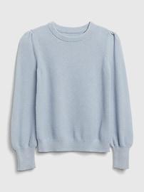 갭 키즈 여아용 스웨터 GAP Kids Seed Stitch Sweater,bright gold