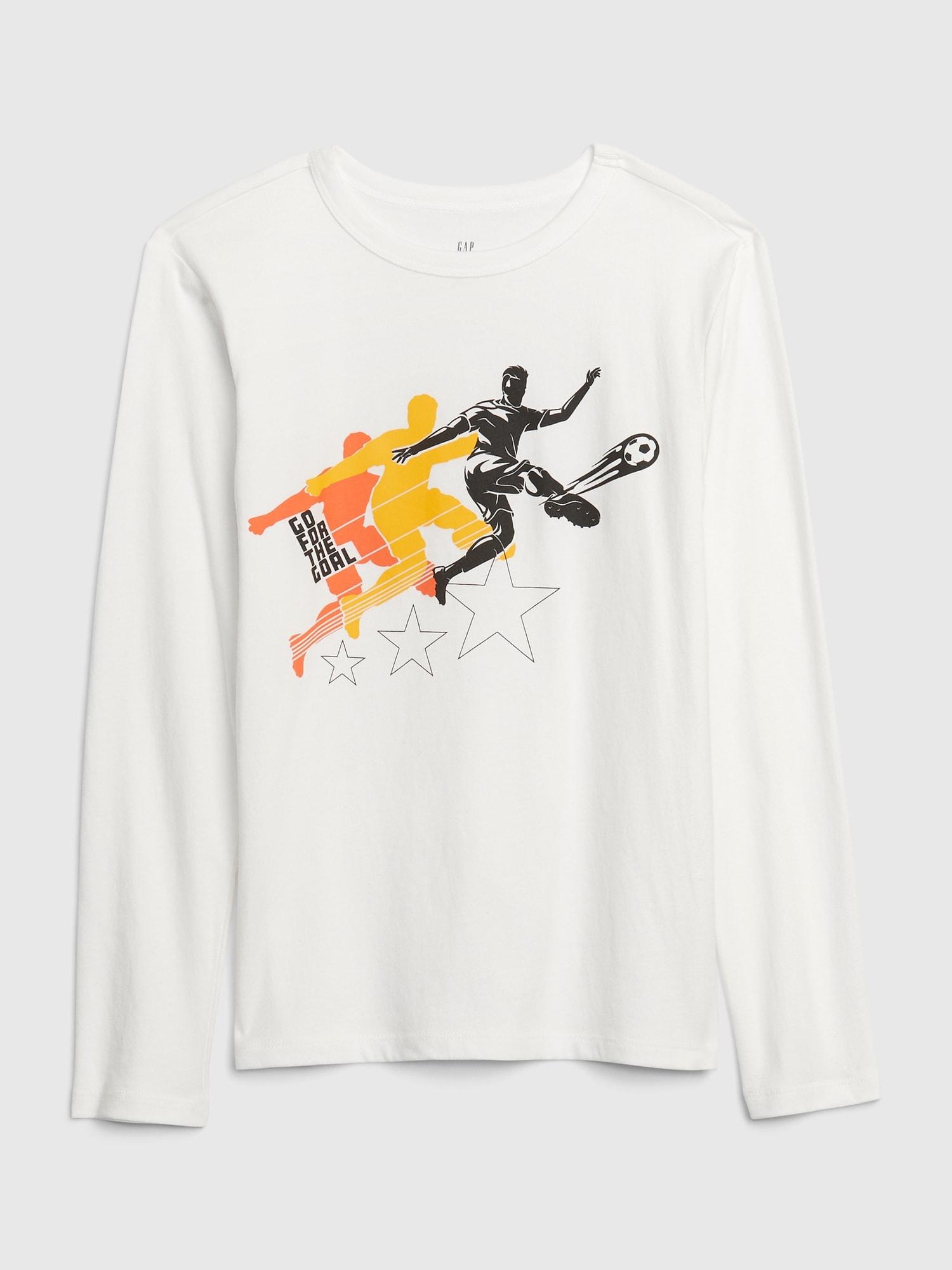 グラフィックtシャツ (キッズ)