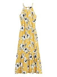 Petite Halter Maxi Dress