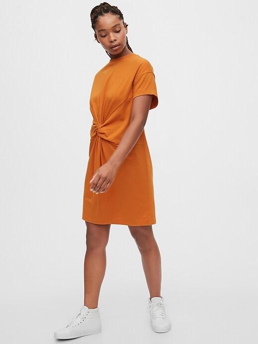 Knot-Twist Dress