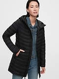 Deals on Gap Womens Upcycled Lightweight Puffer Coat