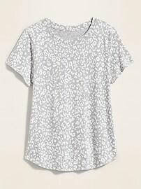 EveryWear Patterned Short-Sleeve Tee for Women