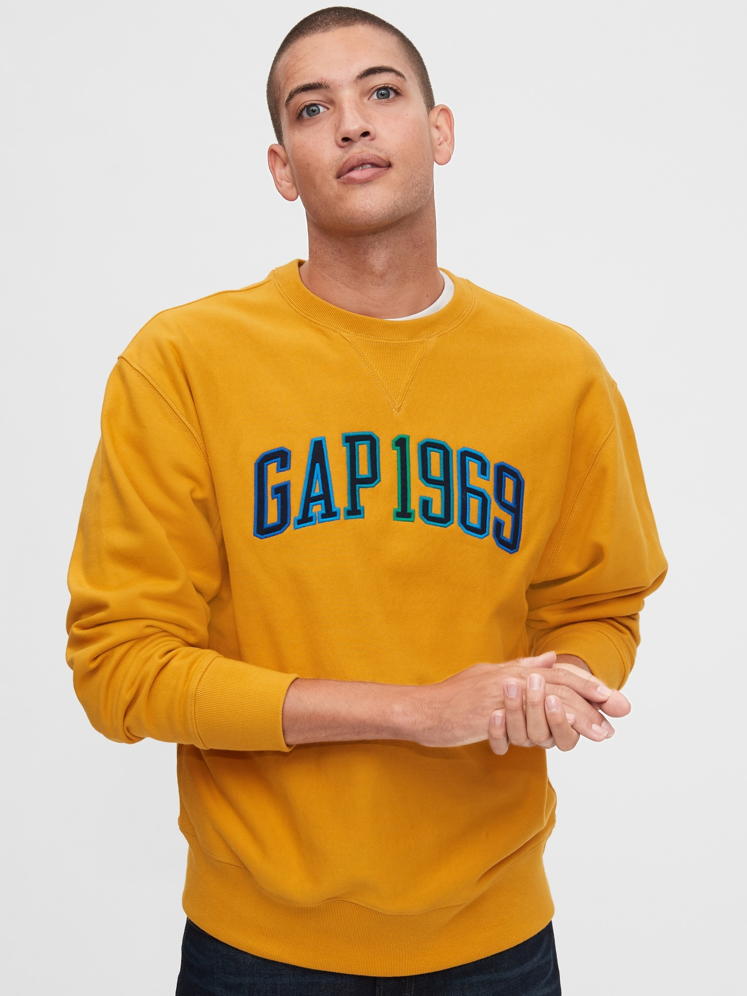 Gapロゴ クルーネックスウェットシャツ