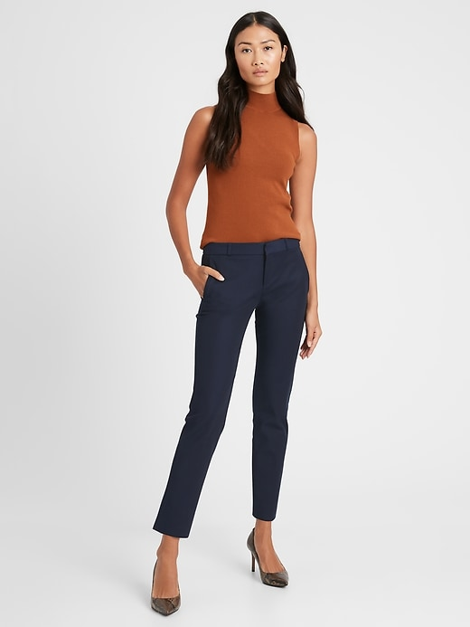 Ryan Slim Straight-Fit Washable Italian Wool-Blend Pant