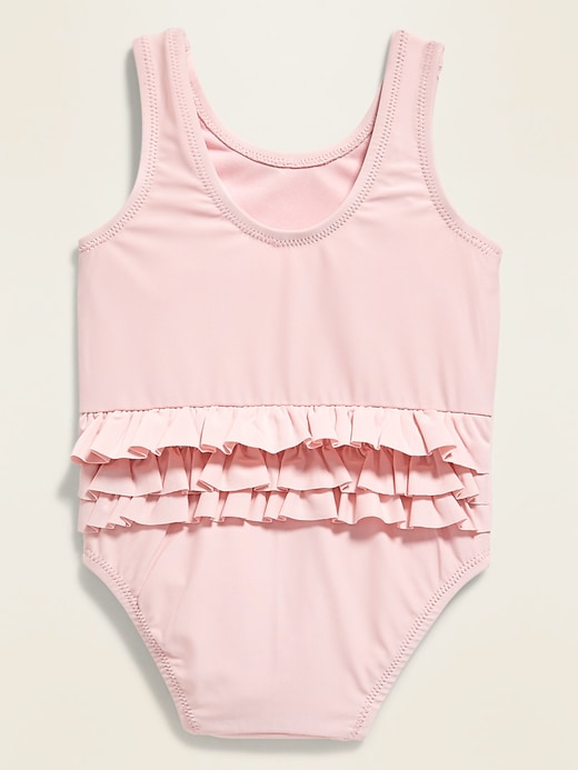 Ruffle-Trim Swimsuit for Baby