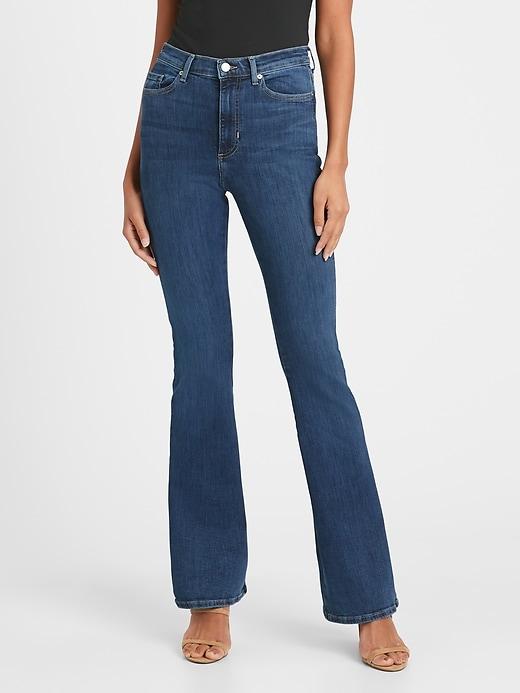 High-Rise Flare Jean