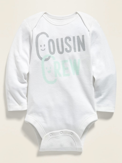 OLD NAVY Long-Sleeve Bodysuit for Baby