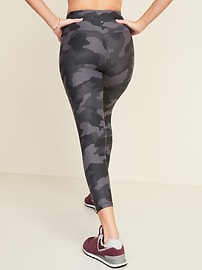 High-Waisted Elevate Powersoft 7/8-Length Side-Pocket Leggings For Women