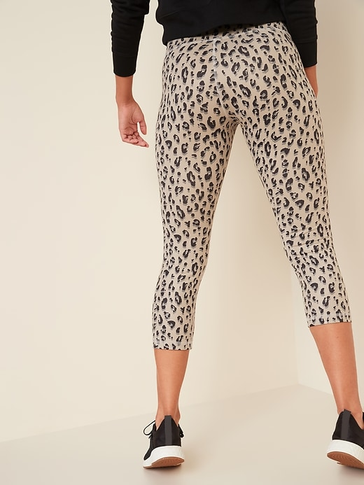 High-Waisted Elevate Crop Leggings For Women