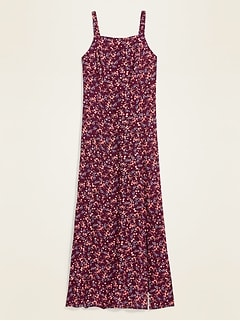 Oldnavy Floral-Print Fit & Flare Cami Maxi Dress for Women