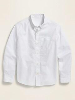 Oldnavy Built-In Flex Long-Sleeve Shirt for Boys