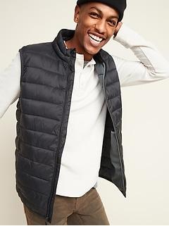 Oldnavy Water-Resistant Narrow-Channel Puffer Vest for Men