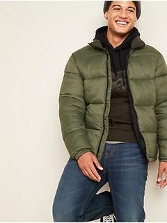 Oldnavy Frost-Free Zip-Front Puffer Jacket for Men