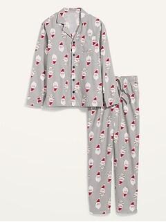 Oldnavy Patterned Flannel Pajama Sets for Men