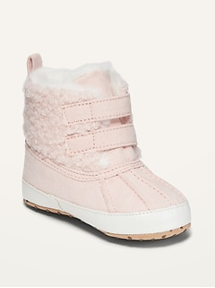 Oldnavy Unisex Cozy Faux-Fur-Lined Snow Boots for Baby