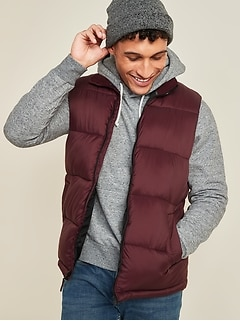 Oldnavy Frost-Free Quilted Puffer Vest for Men