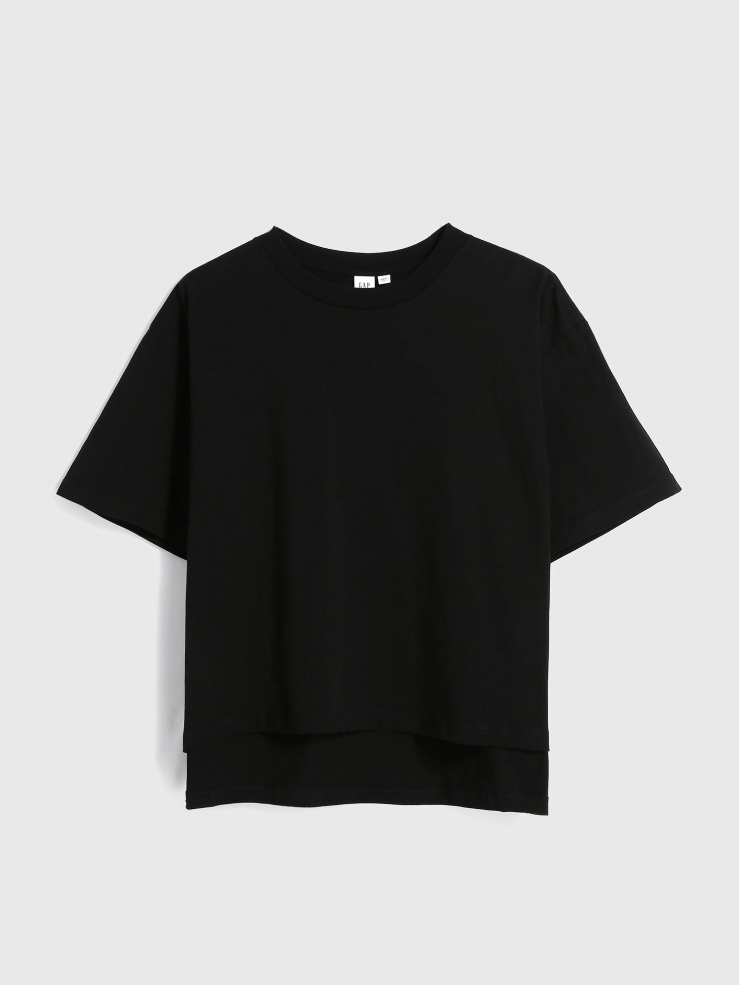 ステップヘム ヘビーウェイトtシャツ