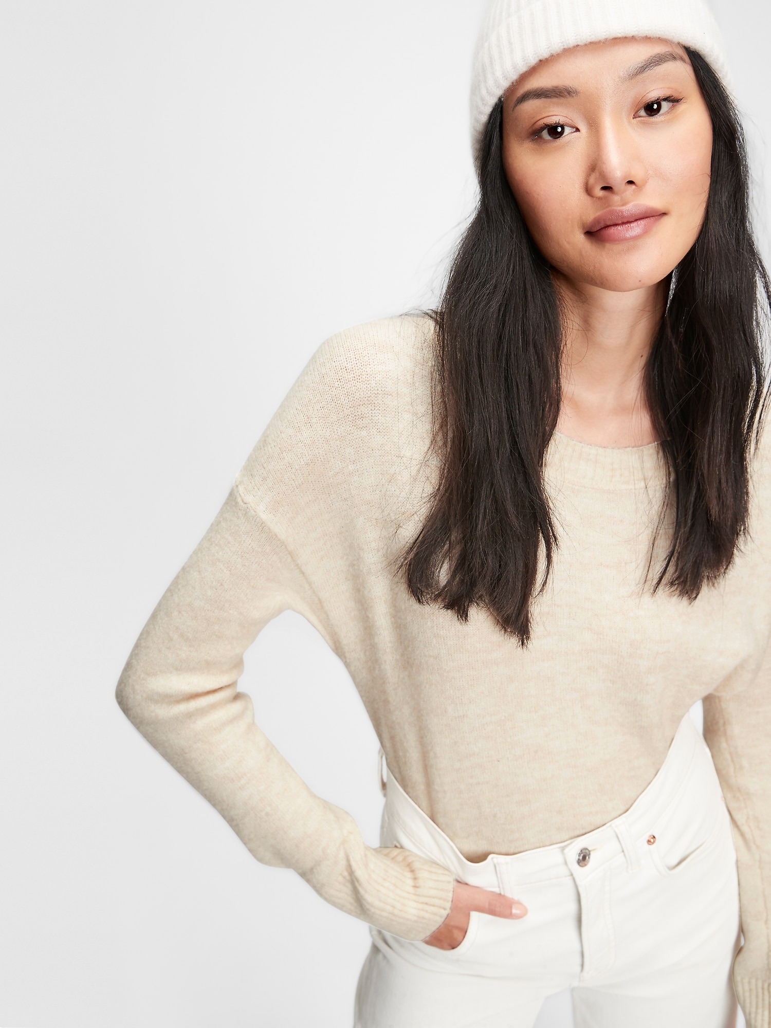 スラウチー セーター