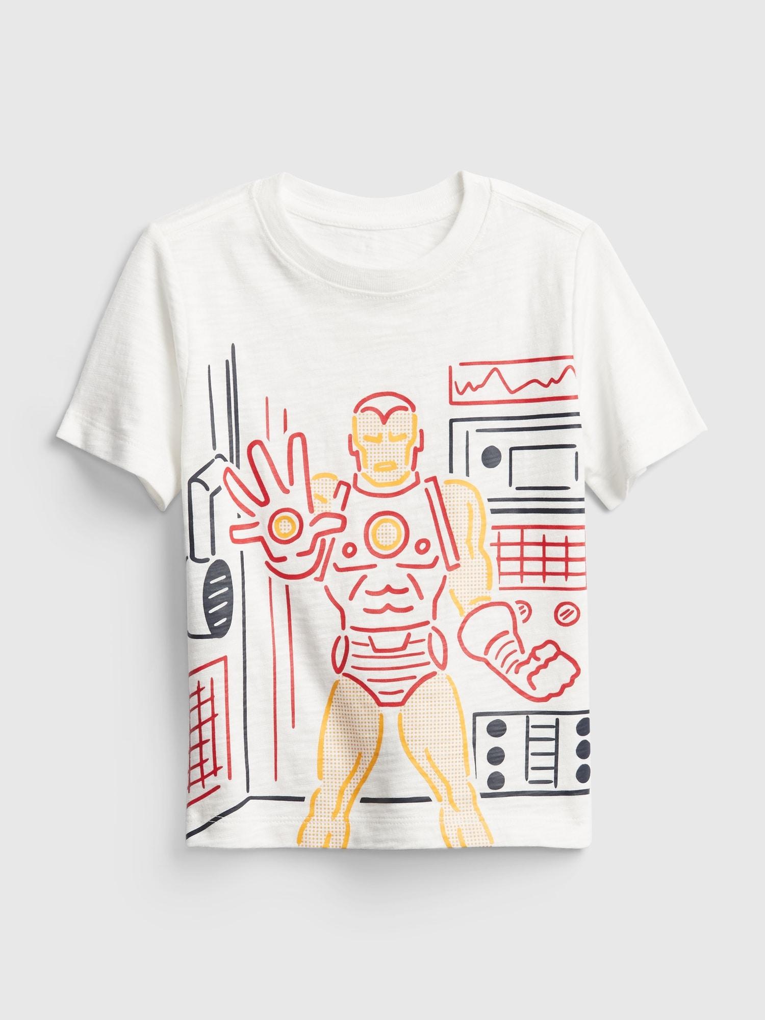 Babygap マーベル グラフィックtシャツ