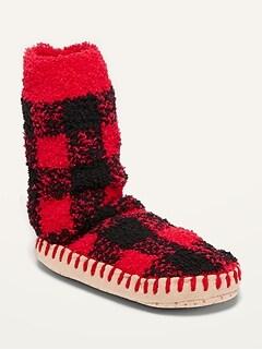 Oldnavy Cozy Patterned Slipper Socks for Girls