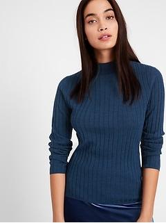 Bananarepublic Merino Ribbed Sweater in Responsible Wool