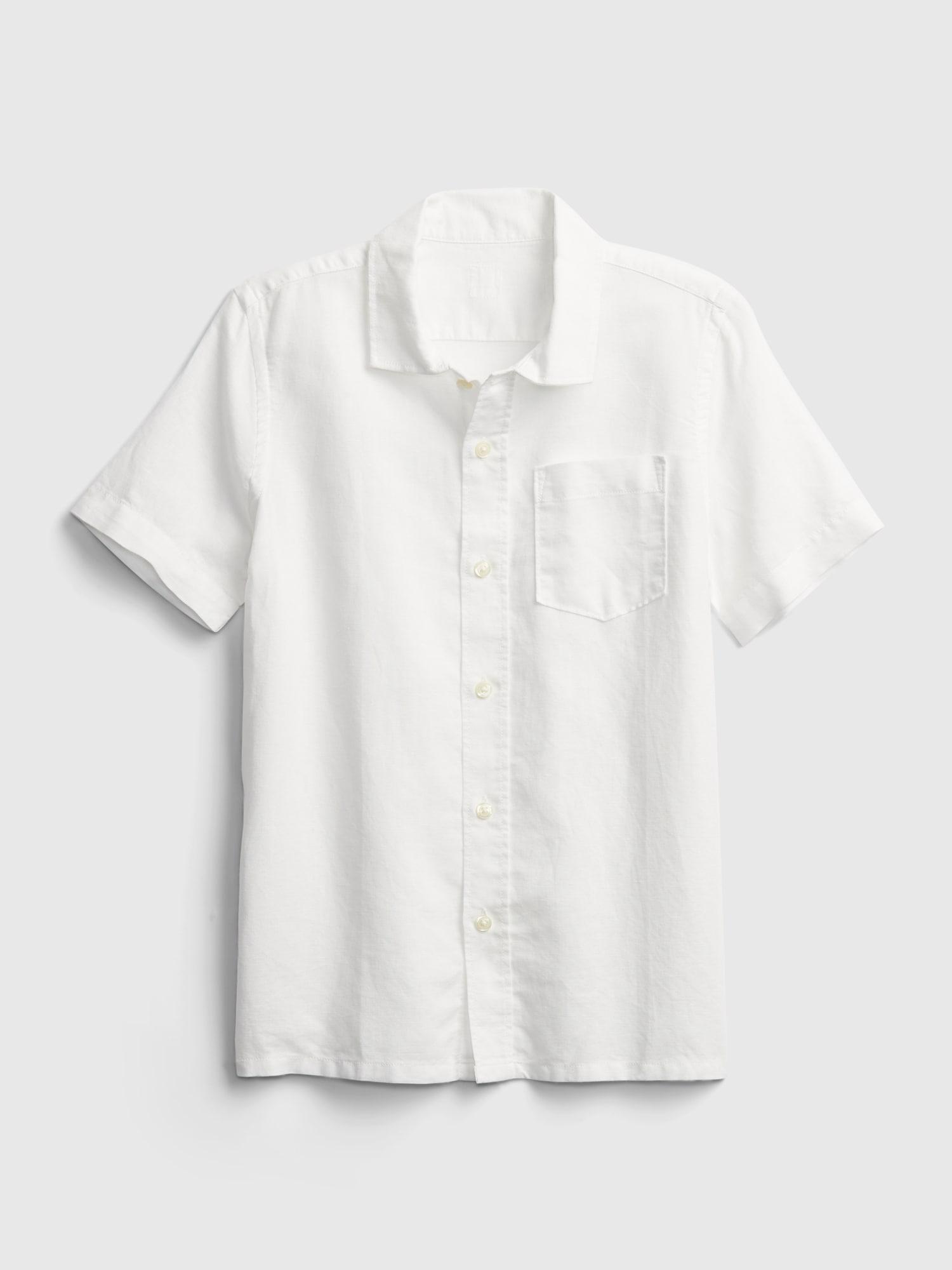 リネンシャツ (キッズ)