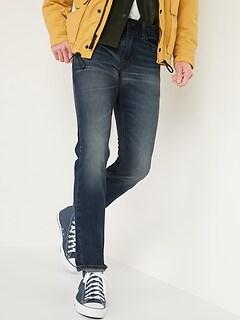 Slim Rigid Non-Stretch Dark-Wash Jeans (Was $34.99, Now $19)