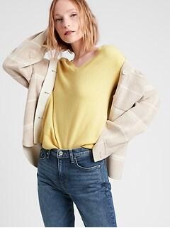 Bananarepublic Cashmere V-Neck Sweater