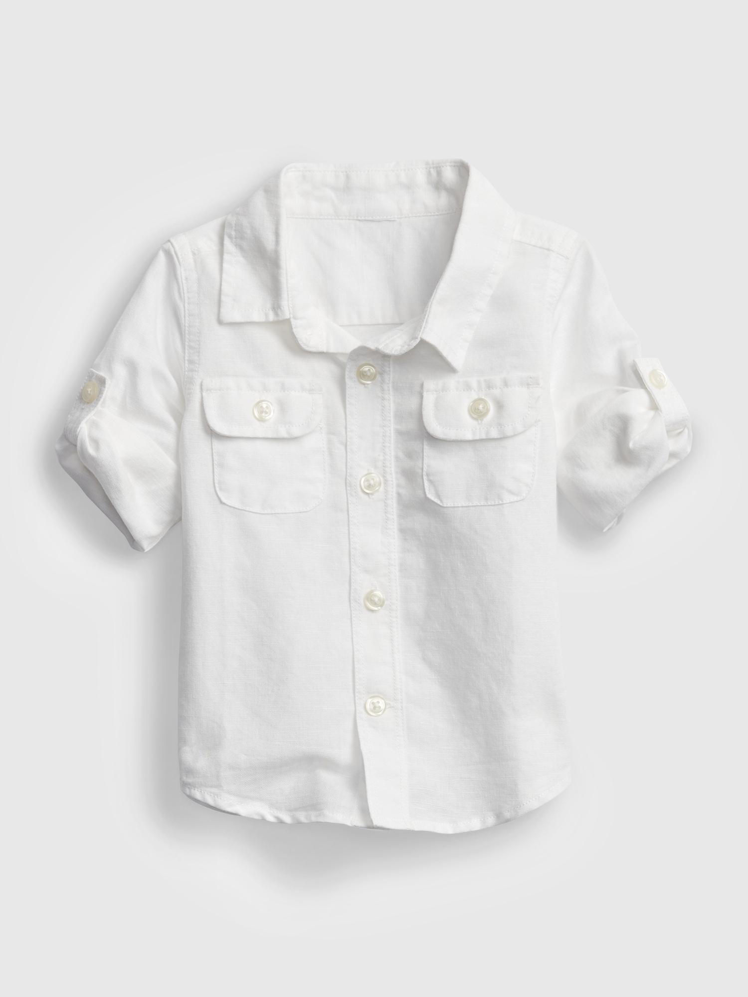リネンシャツ (ベビー)