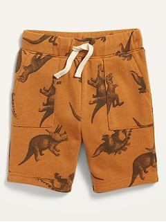 Oldnavy French Terry Utility-Pocket Drawstring Shorts for Toddler Boys
