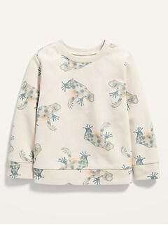 Oldnavy Vintage Frog-Print Pullover Sweatshirt for Toddler Boys
