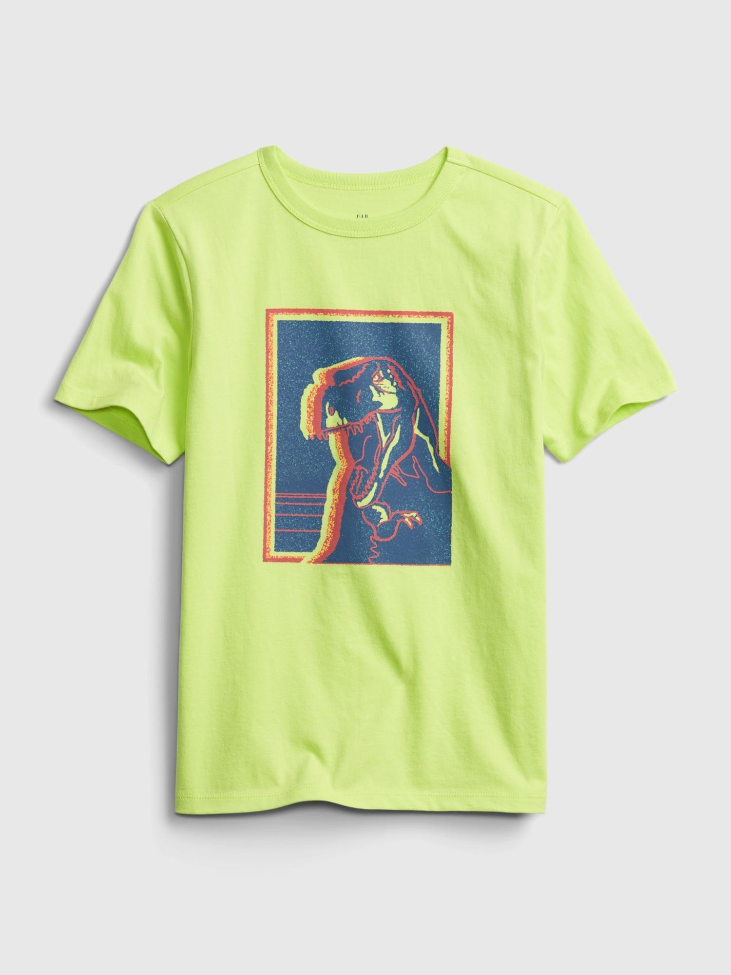 オーガニックグラフィックtシャツ (キッズ)