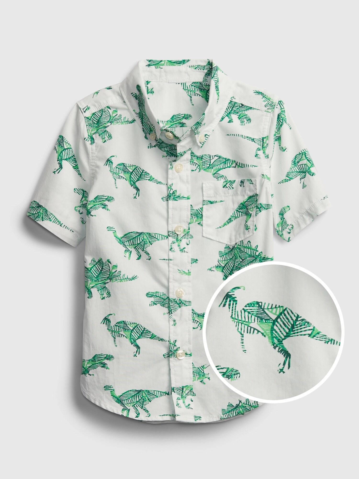 ポプリンシャツ (幼児)