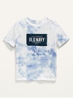 Oldnavy Unisex Logo-Graphic Short-Sleeve Tee for Toddler