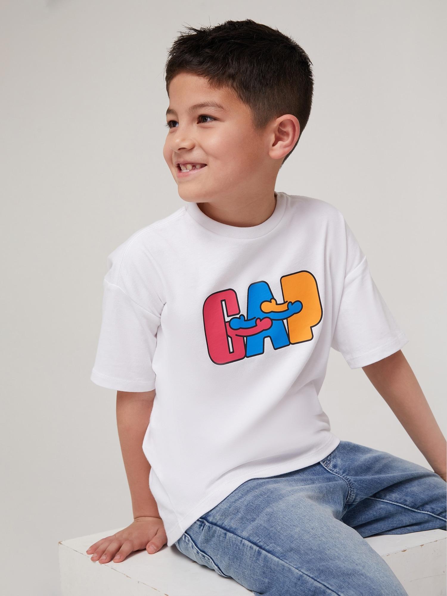 Gap X Ken Lo クルーネックtシャツ (キッズ・ユニセックス)