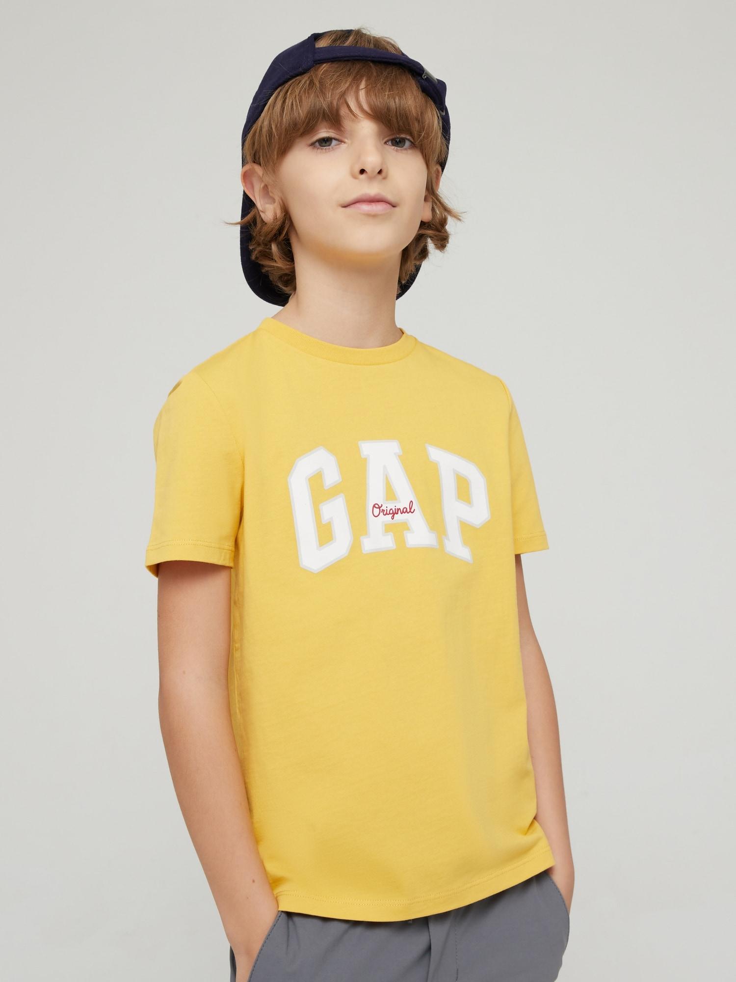Gapロゴ クルーネックtシャツ