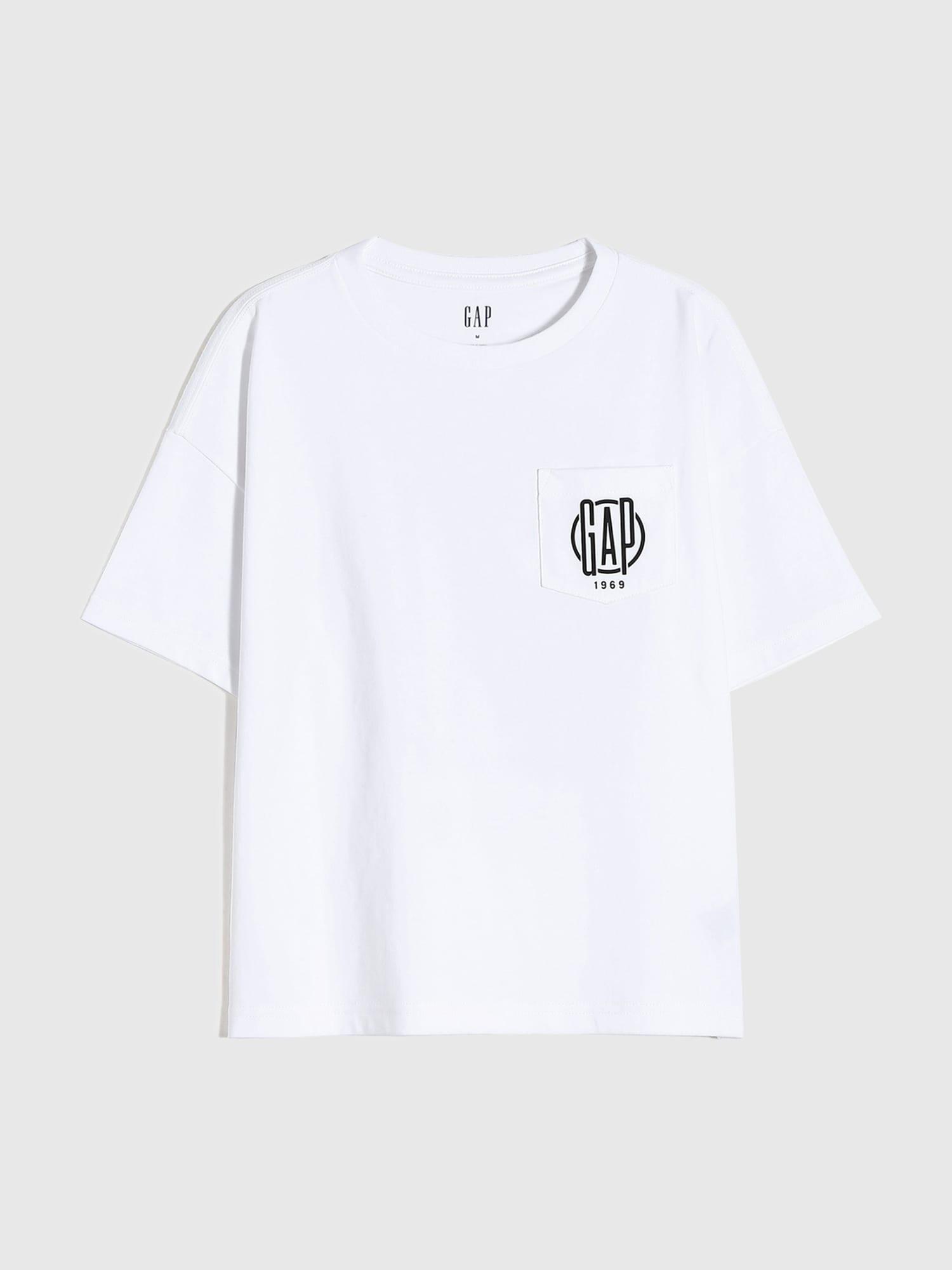 Gapロゴtシャツ